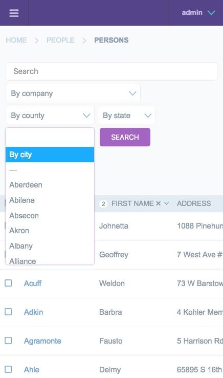 Django JET – responsive admin interface